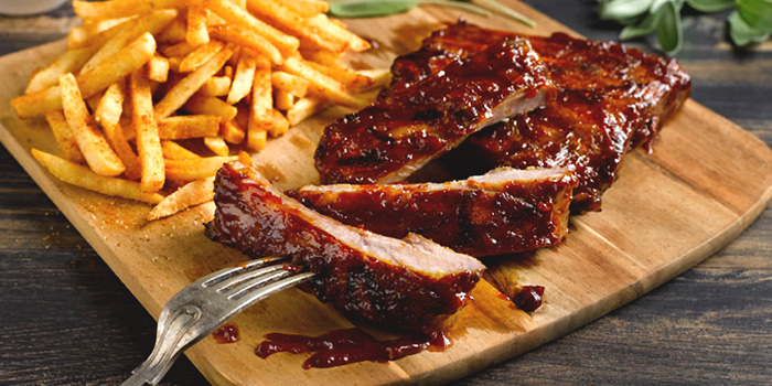 St. Louis Ribs from The Boiler (Esplanade) in Esplanade, Singapore