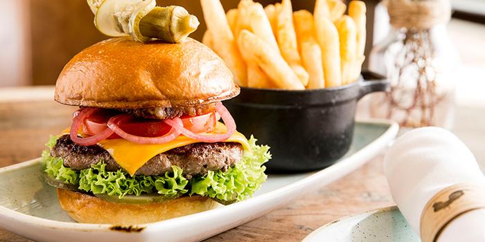 Great American Burger from The Bird Southern Table & Bar at The Shoppes at Marina Bay Sands in Marina Bay, Singapore