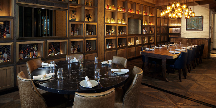 Private Dining Room of The Bird Southern Table & Bar at The Shoppes at Marina Bay Sands in Marina Bay, Singapore
