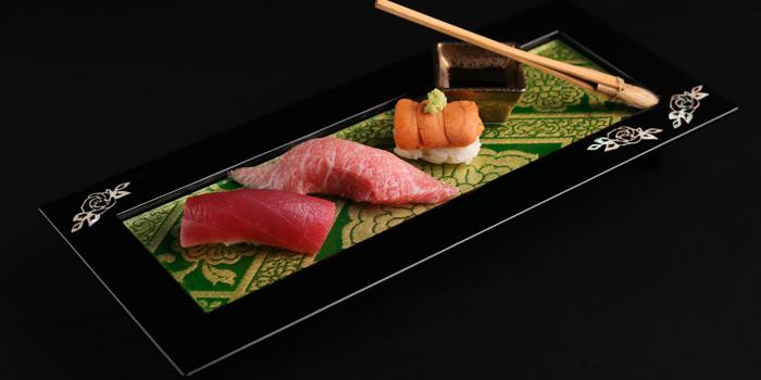 Sushi Selection from Sushi Kappou Kitaohji at 39 Boulevard BLOG, G fl., Sukhumvit39, Soi Phromchit, Bangkok