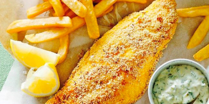Fish & Chips from The Terminal in Yio Chu Kang, Singapore