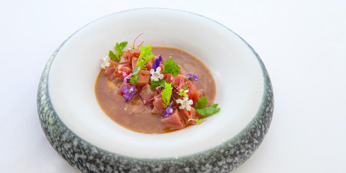 Tuna Ceviche at Arwana Restaurant, Nusa Dua