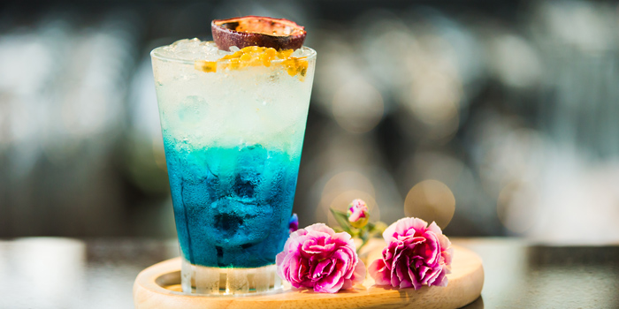 Cocktail from Zook Rooftop Bar at Zazz Urban Hotel 308/1 Rama 9 Road Huai Kwang, Bangkok