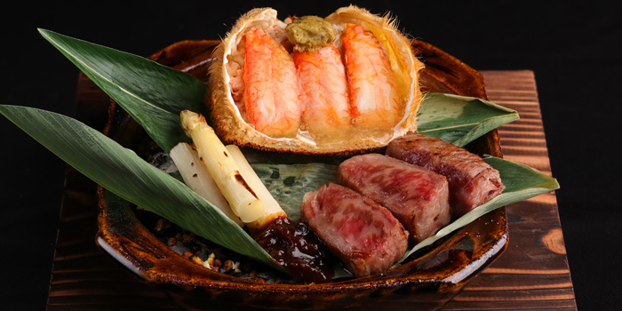 Suft & Turf Teppanyaki from Sushi Kappou Kitaohji at 39 Boulevard BLOG, G fl., Sukhumvit39, Soi Phromchit, Bangkok