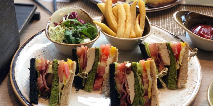 Club Sandwiches, The Farmhouse, North Point, Hong Kong