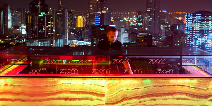 Sky Bar DJ of ZOOM Sky Bar and Restaurant at Anantara Sathorn Bangkok Hotel 36 Naradhiwat Rajanagarindra Rd, Khwaeng Yan Nawa Bangkok