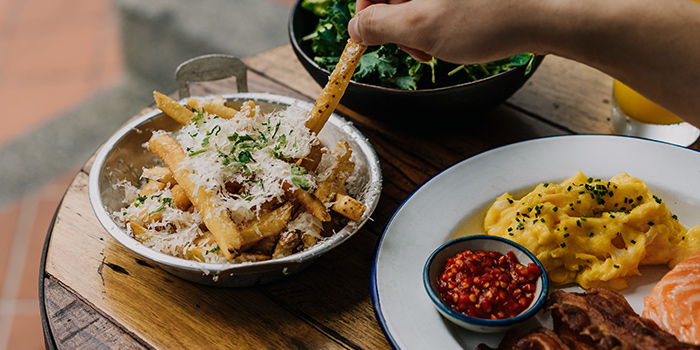 Truffle Fries from The Lokal in Chinatown, Singapore