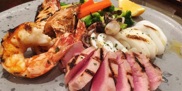 Mixed-grill-seafood from Leonardo Da Vinci Restaurant in Kata Noi, Phuket, Thailand.