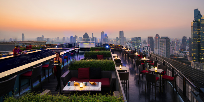 Sky Bar Overview of ZOOM Sky Bar and Restaurant at Anantara Sathorn Bangkok Hotel 36 Naradhiwat Rajanagarindra Rd, Khwaeng Yan Nawa Bangkok