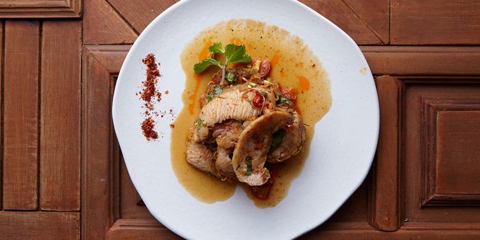 Pra Kor Moo Yang from Baan Restaurant at 139/5 Witthayu Rd Lumphini, Patumwan Bangkok
