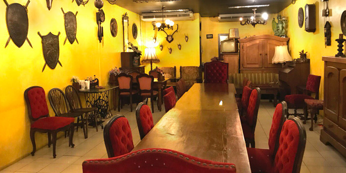 Private Room of The Witch Antiques & Restaurant at Muban Seri Villa Alley, Lane 2 Nong Bon, Prawet Bangkok Thailand