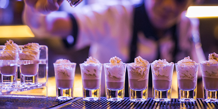 Alko Shots with Whipped Cream from 78 Alkofelic in Bugis, Singapore