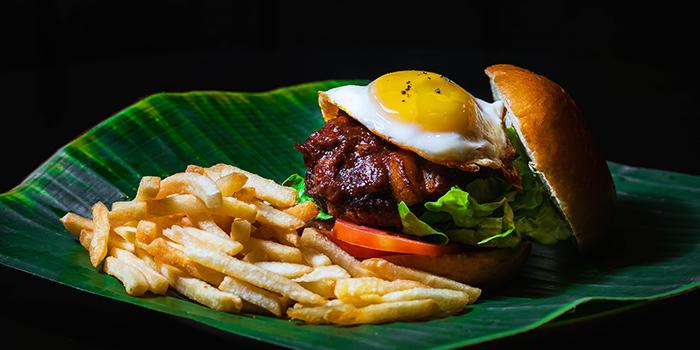 Messy Rocker Burger from Ash & Char in Tanjong Pagar, Singapore