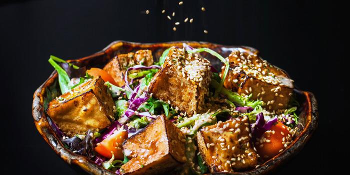 Terayaki Tofu from Ash & Char in Tanjong Pagar, Singapore