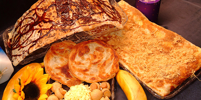 Assorted Prata from Casuarina Curry (Upper Thomson) in Thomson, Singapore