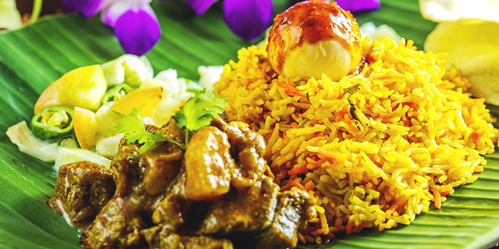 Mutton Biryani from Casuarina Curry (Upper Thomson) in Thomson, Singapore