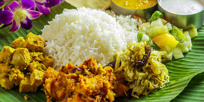 Vegetarian Set Meal from Casuarina Curry (MacPherson) in Paya Lebar, Singapore