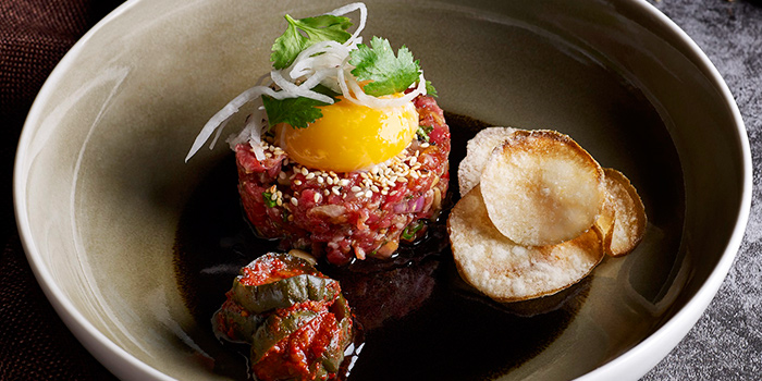 Yukhoe Korean-style Beef Tartar from Cook & Brew at The Westin Singapore in Marina Bay, Singapore