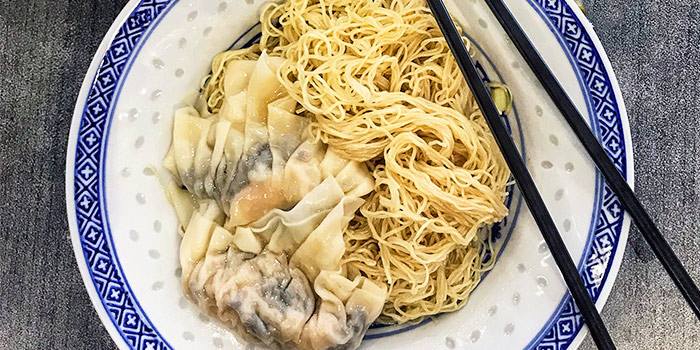 Tossed Noodles with Wanton from Mak