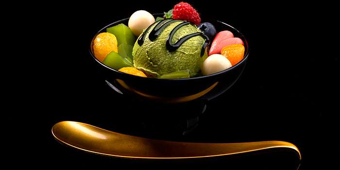 Matcha Dessert from Misato at The Centrepoint in Orchard, Singapore