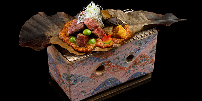 Wagyu Hoba Miso Yaki from Misato at The Centrepoint in Orchard, Singapore