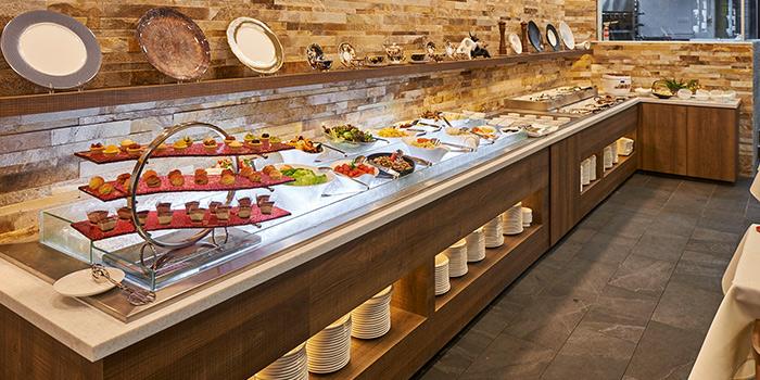 Interior of Rodizio Do Brazil Churrascaria & Bar in Clarke Quay, Singapore