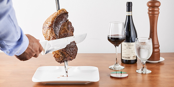 Rump Steak from Rodizio Do Brazil Churrascaria & Bar in Clarke Quay, Singapore