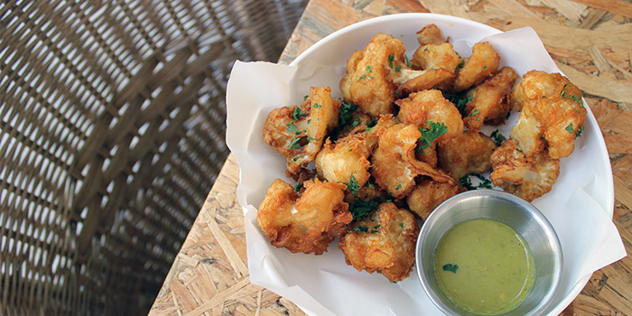 Beer Battered Cauliflower from The Communal in Lavender, Singapore