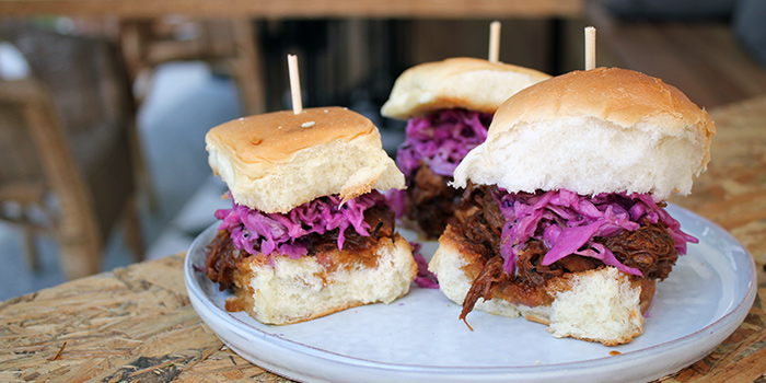 Pulled Pork Sliders from The Communal in Lavender, Singapore