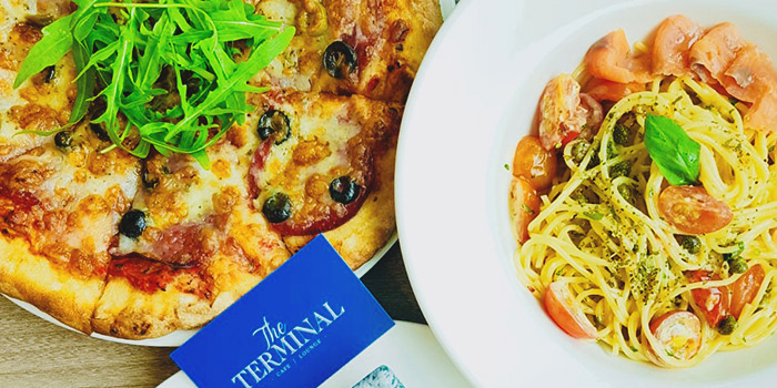 Pizza & Pasta from The Terminal in Yio Chu Kang, Singapore