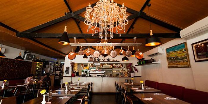 Interior at Expatriate Restaurant, Kelapa Gading