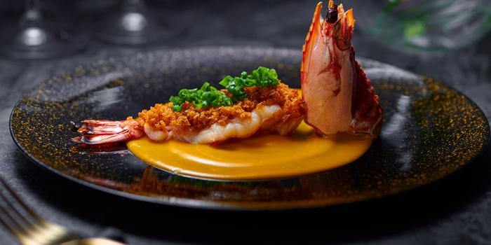 Shrimp, Dining at Murasaki, Causeway Bay, Hong Kong