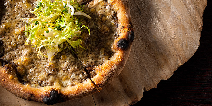 Black Truffle & Fontina Pizza from The Dempsey Cookhouse and Bar  in Dempsey, Singapore