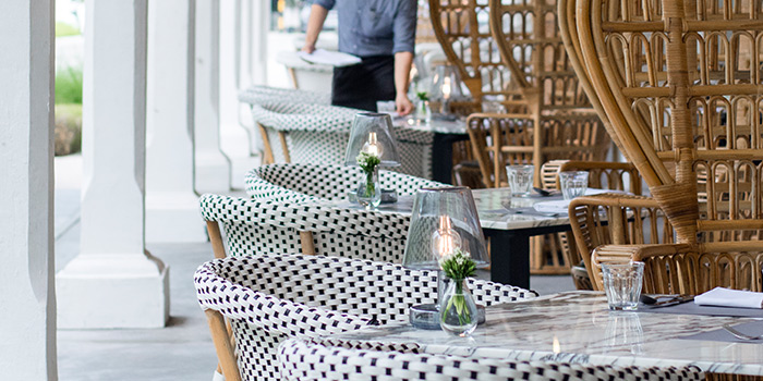 Al Fresco Area in The Dempsey Cookhouse and Bar  in Dempsey, Singapore