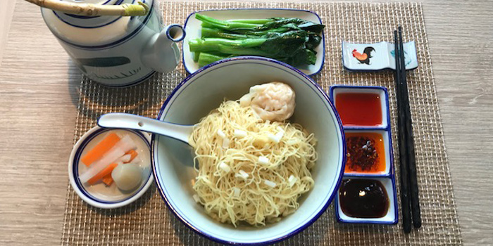 Wonton Noodles, The Farmhouse, North Point, Hong Kong