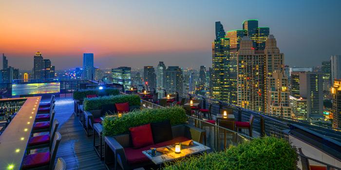 Sky Bar City View of ZOOM Sky Bar and Restaurant at Anantara Sathorn Bangkok Hotel 36 Naradhiwat Rajanagarindra Rd, Khwaeng Yan Nawa Bangkok