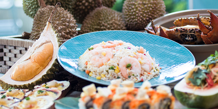 Durian Feast (17 Jul to 31 Aug) from The Line in Shangri-La Hotel in Orchard, Singapore