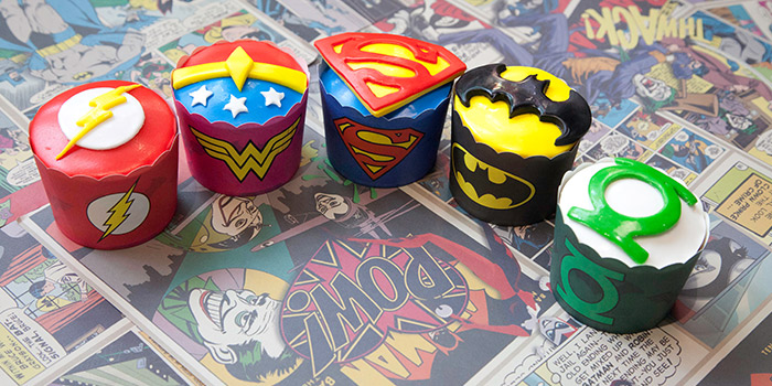 Cupcakes from DC Super Heroes Cafe (Takashimaya) in Orchard, Singapore