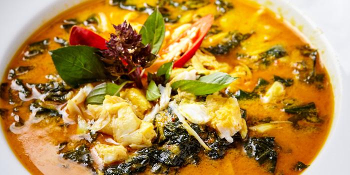 Curry Crab Meat from Jann Bistro at Sathon at 1749 Chan Kao rd Thung Maha Mek, Sathon Bangkok