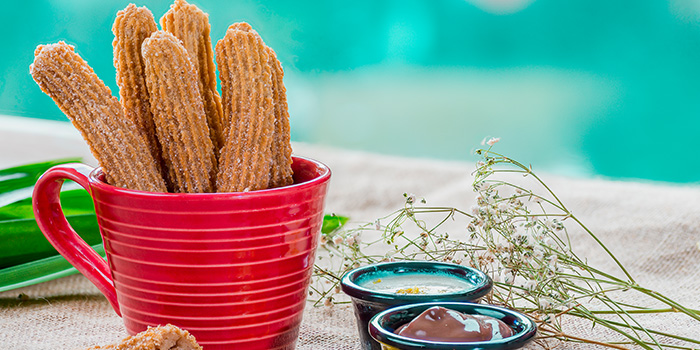 Churros from GRUB Burger + Noodle Bar at HomeTeamNS-JOM in Balestier, Singapore