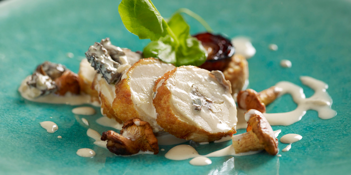 Guinea Fowl from Stellar at 1-Altitude in Raffles Place, Singapore