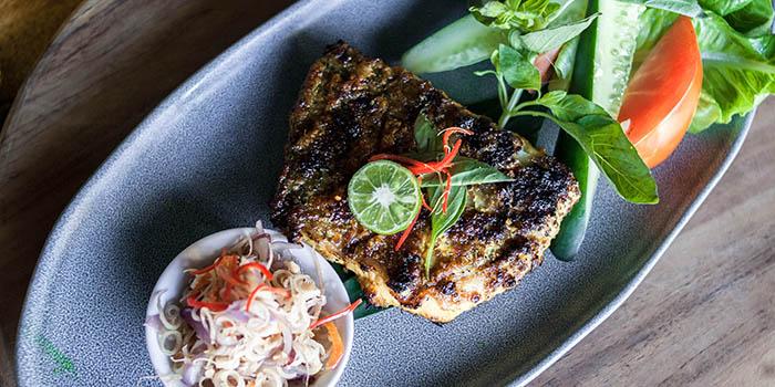 Food from Nebula Bali at Seminyak, Bali