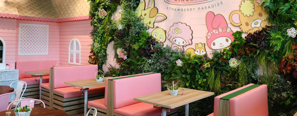 MY MELODY CAFE SINGAPORE, SUNTEC CITY