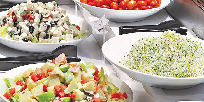 Salad Buffet from Earle Swensen
