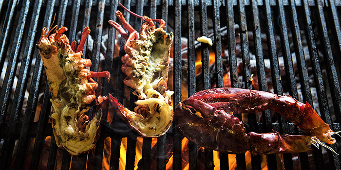 Grilled Lobster from The Market Grill at Telok Ayer in Raffles Place, Singapore