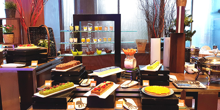 Dessert Spread from The Square Restaurant in Novotel Singapore Clarke Quay, in Clarke Quay, Singapore