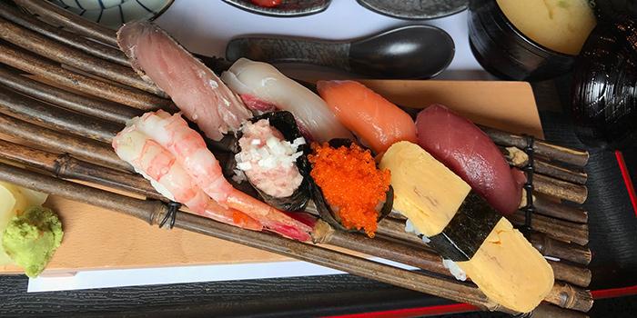 Sushi Platter, NO.13 Modern Japanese Cuisine & Bar, Tai Hang, Hong Kong