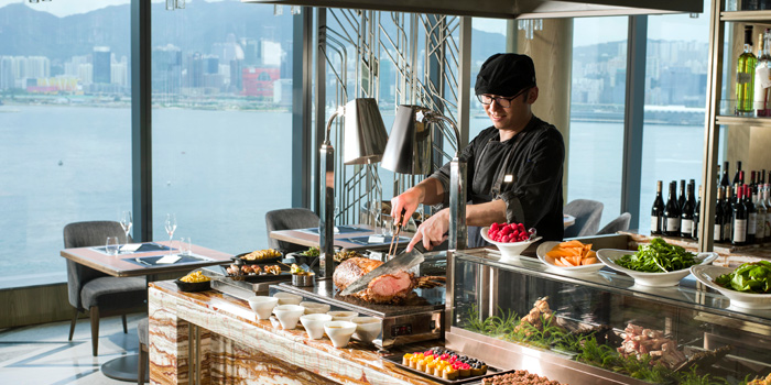 Weekend Brunch Buffet, Cruise, North Point, Hong Kong