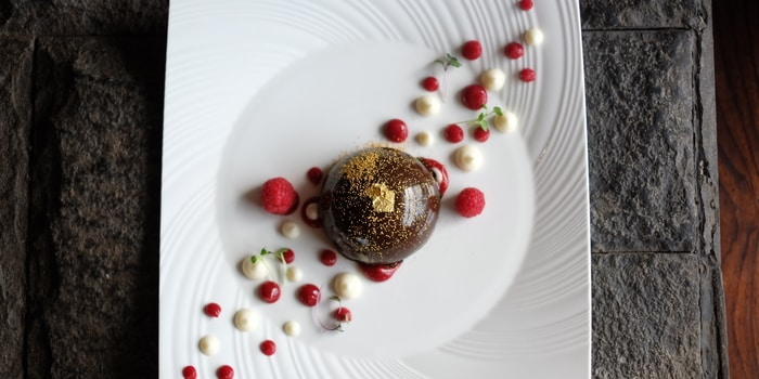 Chocolate Dome at Skye Restaurant