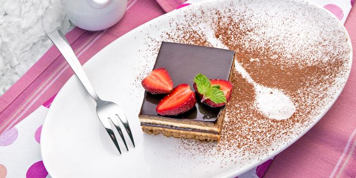 Dessert from Prime+ Urban Grill Restaurant & Bar at Floor7th, Compass SkyView Hotel 12 Sukhumvit 24 Klongton, Klongtoey Bangkok